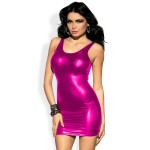 Xanded Fantasy Open Back Pink Sexy Dress Nightgown