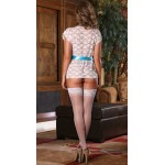 Xanded Fantasy White Lacy Underwear