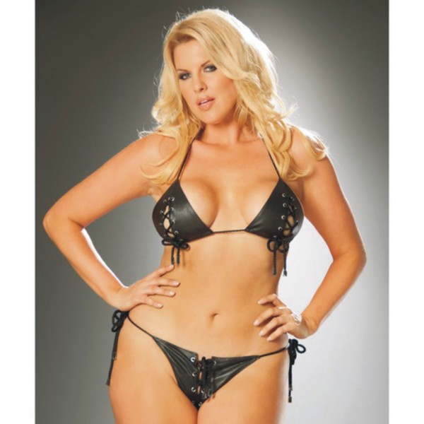 Xanded Fantasy Plus Size Leather Underwear