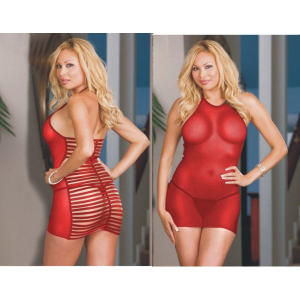 Xanded Fantasy Plus Size Red Babydoll Underwear