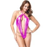 Xanded Plus Size Leatherette Pink Tedy